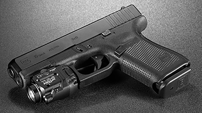 Streamlight TLR-8 light laser on glock
