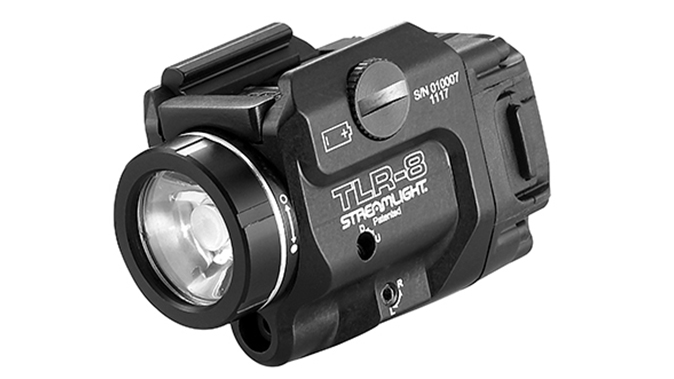 Streamlight TLR-8 light laser angled