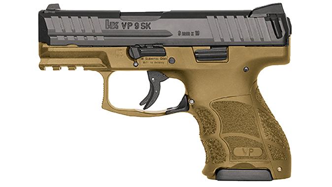 hk VP9SK FDE pistol
