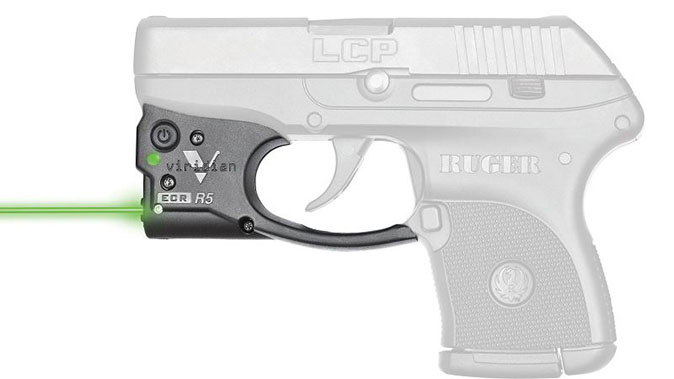 Viridian Reactor Gen 2 Green Laser left profile
