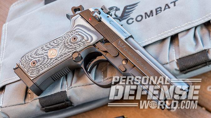 Wilson/Beretta 92G Centurion Tactical pistol right profile