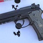Wilson/Beretta 92G Centurion Tactical pistol target