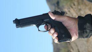 Double-Action guns Beretta 92FS pistol