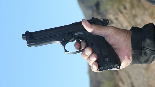 Double-Action guns Beretta 92FS pistol