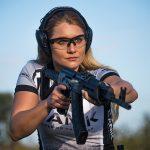 Corinne Mosher firearms training shooting rifle