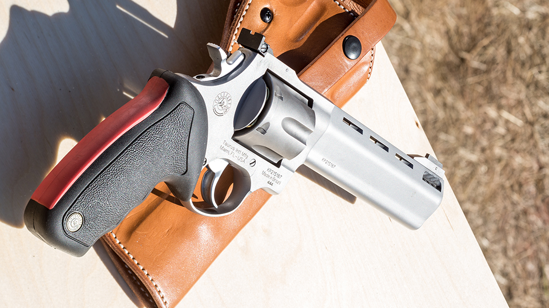 The Taurus Raging Bull Revolver Kicks the  44 Magnum Up a Notch