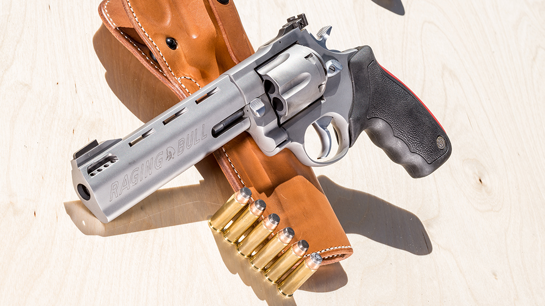 Taurus Raging Bull Revolver Athlon Outdoors Rendezvous lead