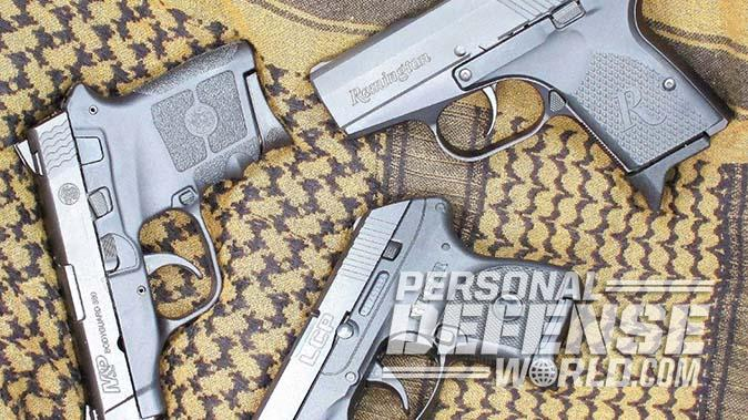 ruger lcp smith wesson remington rm380 pistols