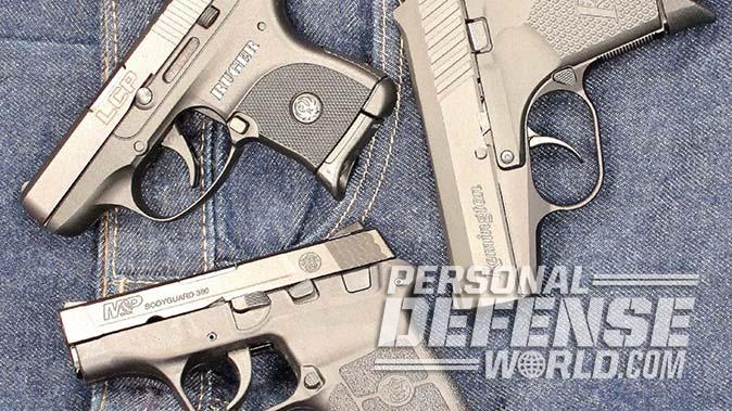 ruger lcp smith wesson remington rm380 pistols comparison