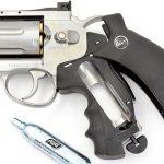 asg dan wesson revolver C02 loading