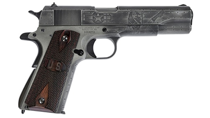 auto-ordnance victory girls 1911 pistol right profile