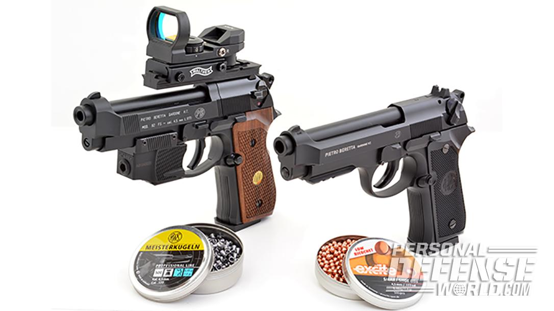 BBs vs Pellets: A Showdown Using 2 Beretta Air Pistols