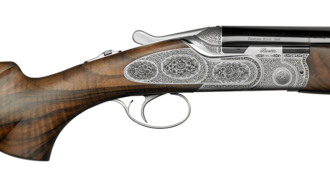 Beretta SL3 Premium Over & Under shotgun english scroll receiver