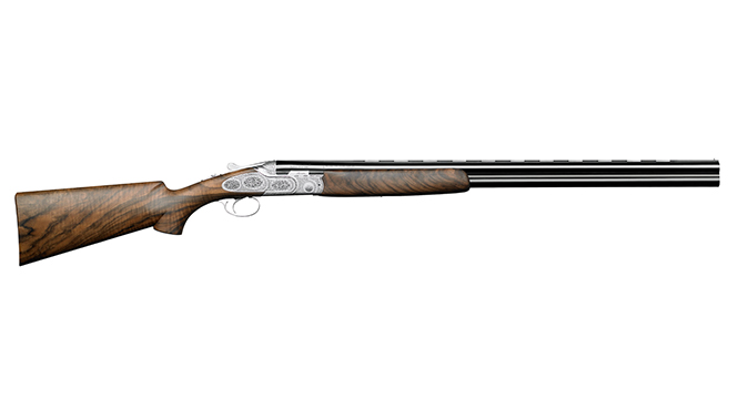 Beretta SL3 Premium Over & Under shotgun english scroll right profile
