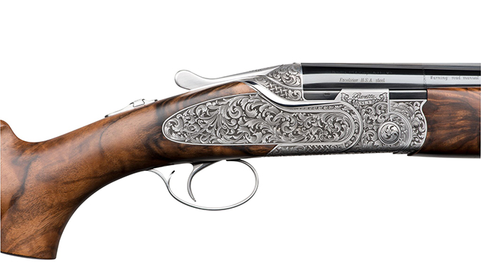 Beretta SL3 Premium Over & Under shotgun renaissance style receiver right profile