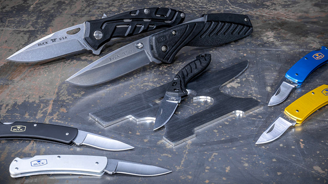 buck knives everyday carry knives
