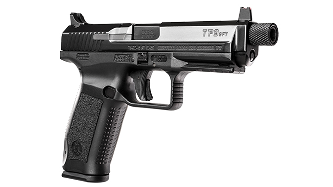 Canik TP9SFT pistol right angle