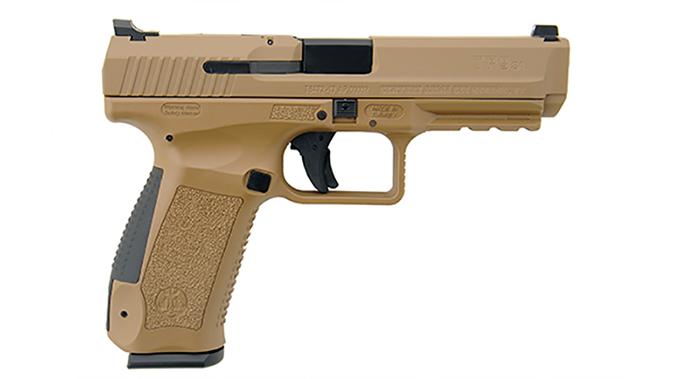 Canik TP9SA Mod.2 pistol fde right profile