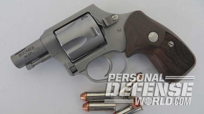 charter arms boomer revolver left profile