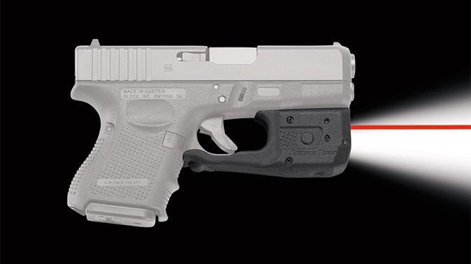 Crimson Trace laserguard pro LL-810 laser right profile