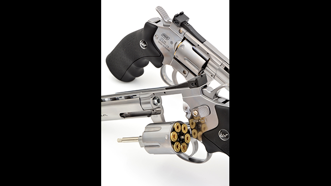asg dan wesson revolver cylinder