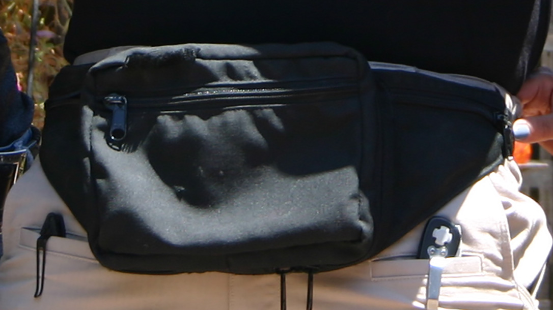 fanny pack closeup