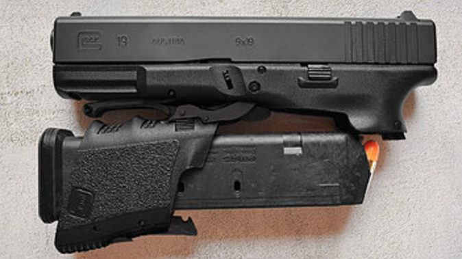 full conceal folding glock left profile