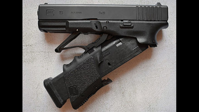 Watch Full Conceal Turns Factory Glock 23 Into A Folding Glock 23
