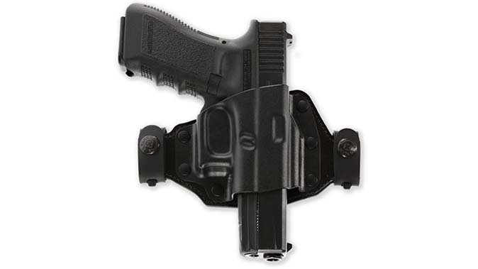 Galco Quick Slide holster front