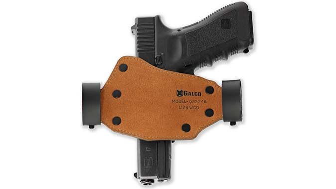 Galco Quick Slide holster back