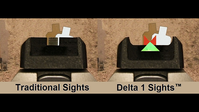 Gun Pro Delta 1 Sight comparison