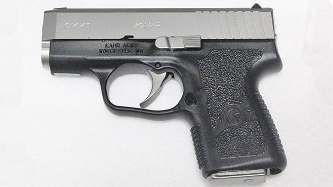 kahr cm40 pistol pm9 left profile