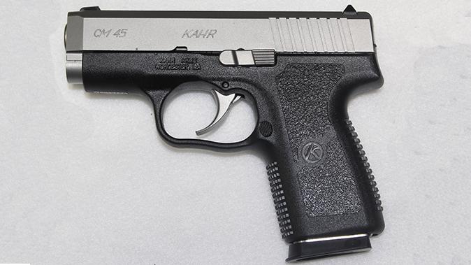 kahr cm45 pistol left profile pm9