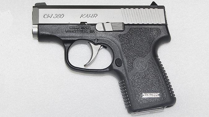 Kahr CW380 pistol pm9
