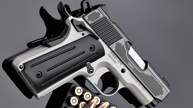Kimber Onyx Ultra II pistol right angle