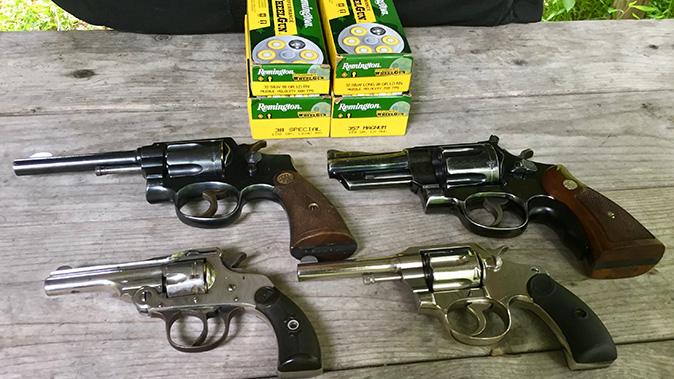 remington performance wheelgun ammo revolvers left profile