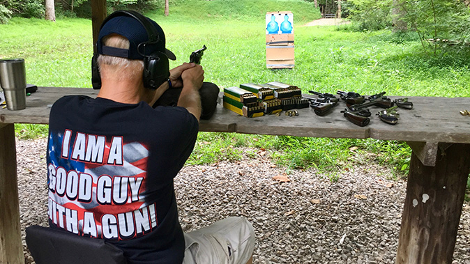 remington performance wheelgun ammo shooting test
