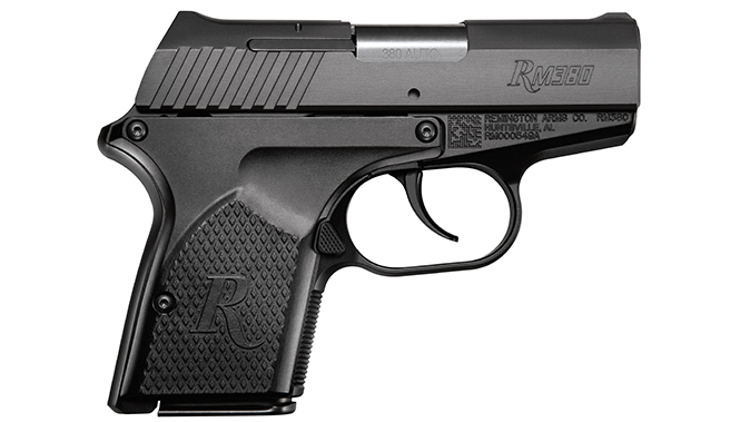 Ruger LCP remington rm380 pistol right profile