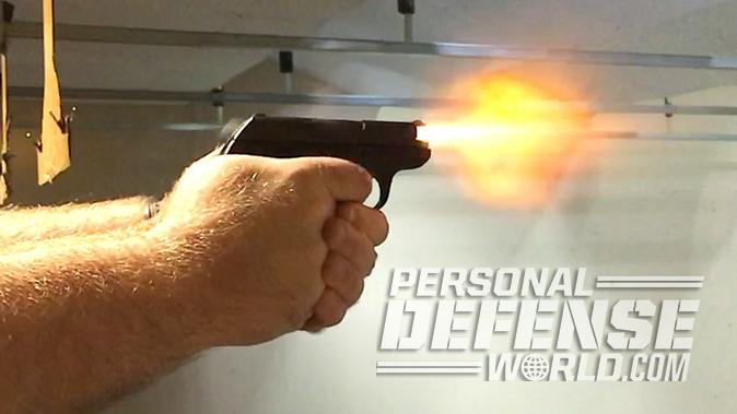Ruger LCP pistol recoil