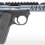 Ruger Mark IV 22/45 Lite diamond gray pistol right profile