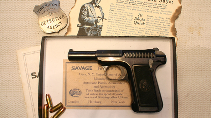 savage 1907 pistol certificate
