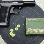 savage 1907 pistol target
