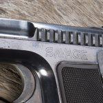 savage 1907 pistol logo