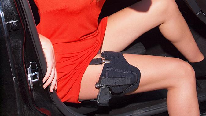 sig sauer p238 p938 p290rs pistol leg holster