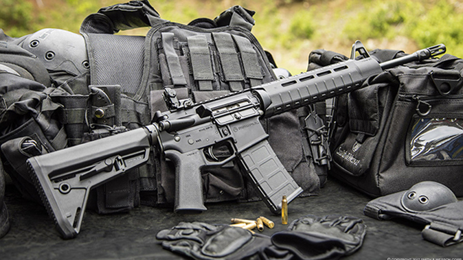Smith & Wesson M&P15 MOE SL blackrock guns