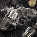 Taurus Model 85 Convertible revolver left angle