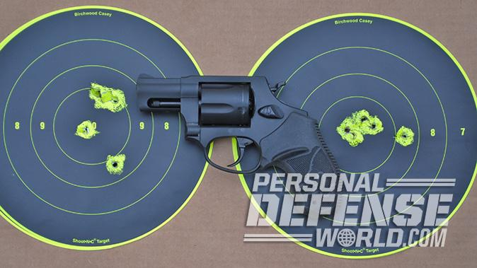 Taurus Model 85 Convertible revolver target