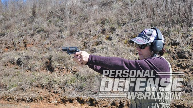 Taurus Model 85 Convertible revolver shooting