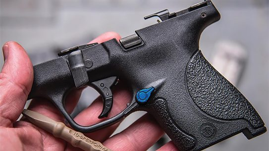 tyrant designs m&p shield extended magazine release