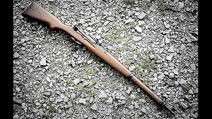 W+F Bern K31-43 Cal. 7.5mm rifle edelweiss arms